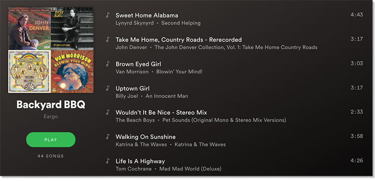 Click to listen to the full playlist on Spotify