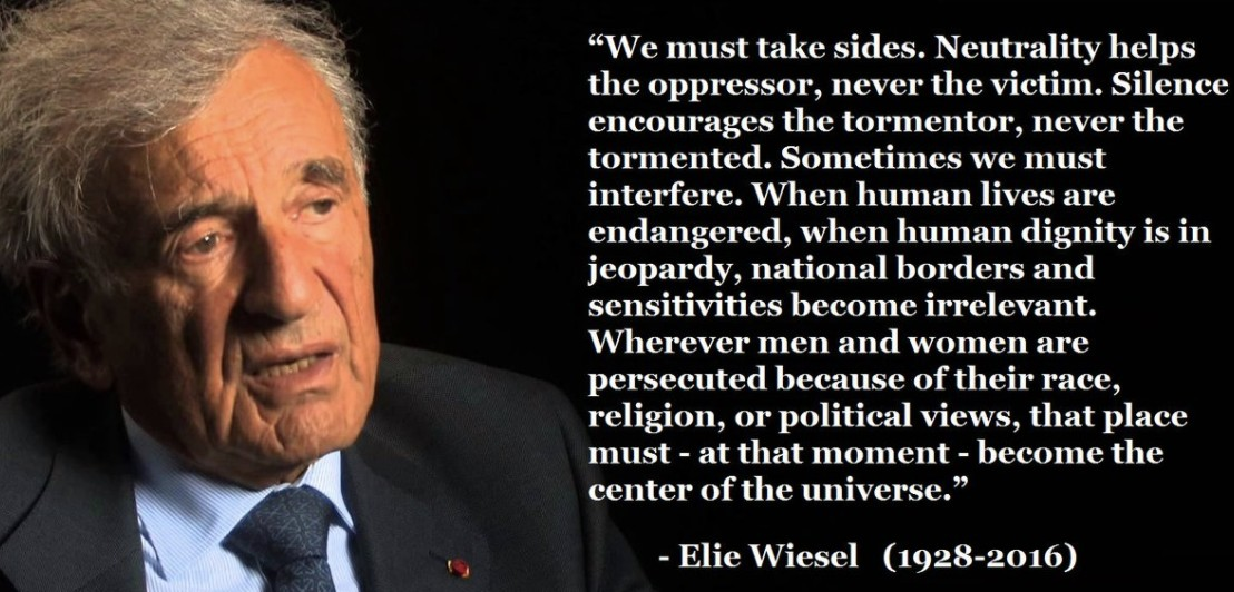 Elie Wiesel quote